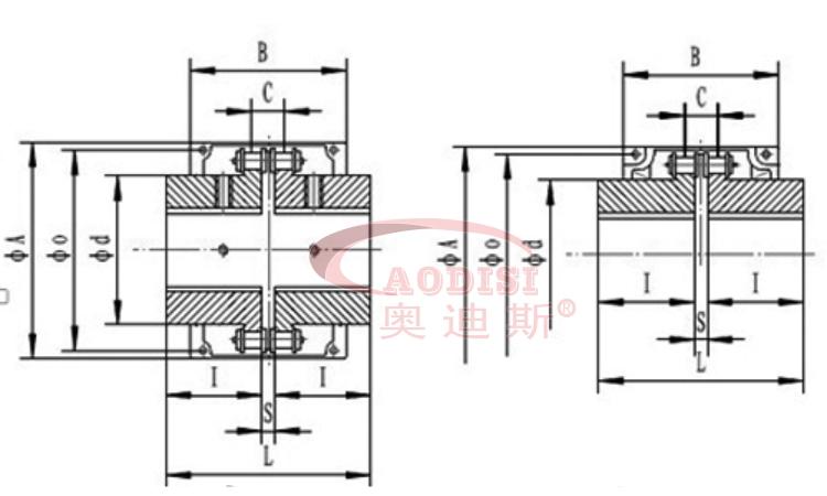 轴系结构设计图及尺寸
